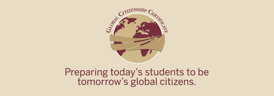 Global Citizenship Certificate Center For Global Engagement