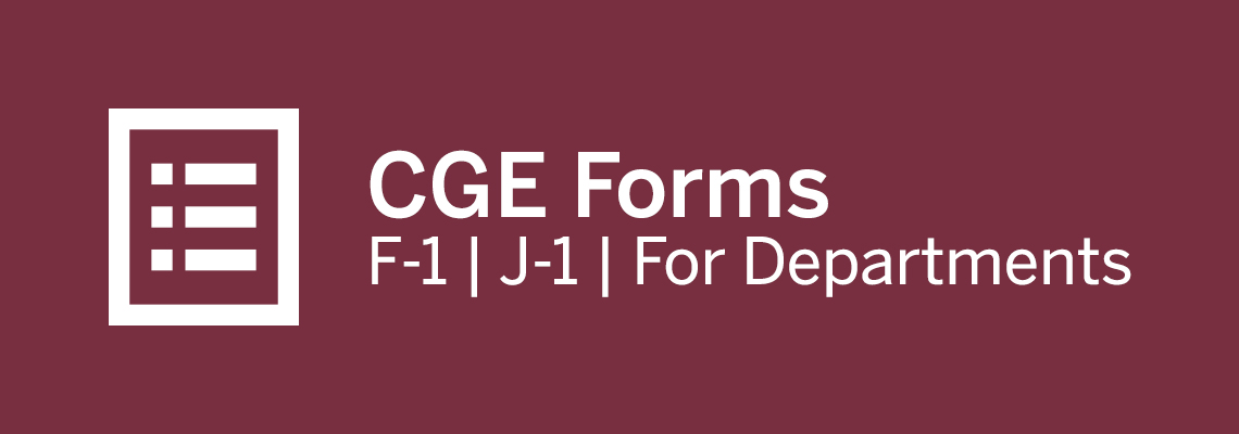 CGE Forms