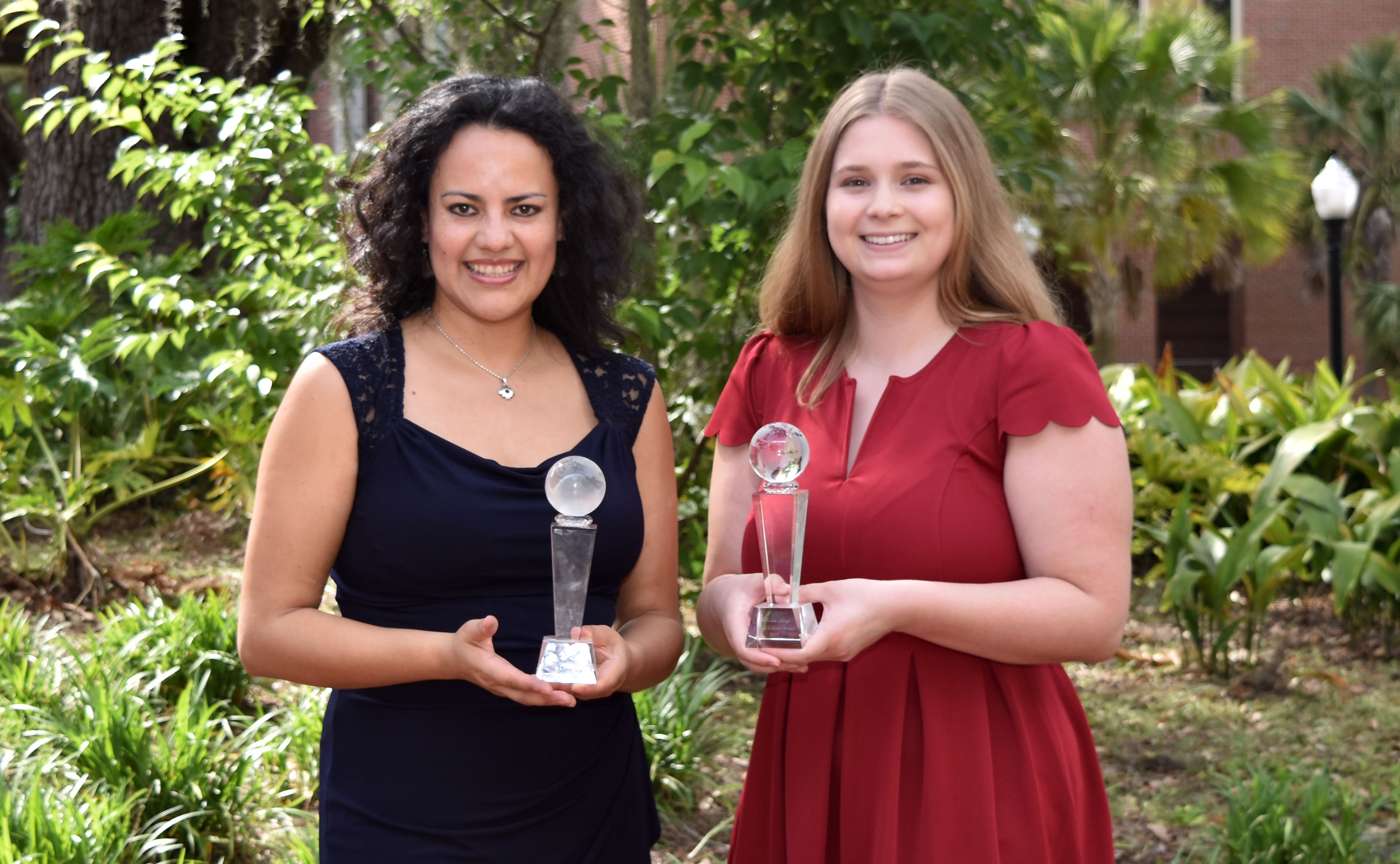 From left: Vivianne Asturizaga and Allison Lang