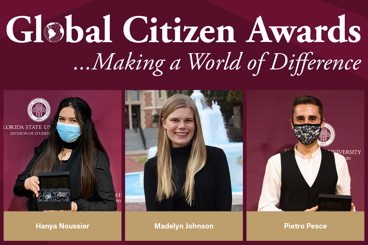 2021 Global Citizen Award Winners